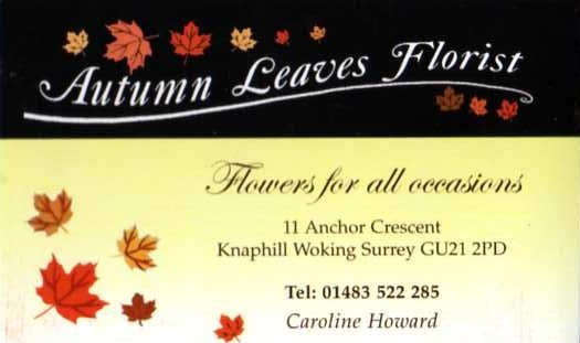 Autumn Leaves Florist
