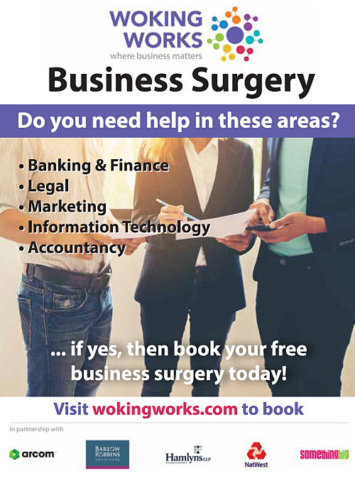 Woking Works Business Surgeries